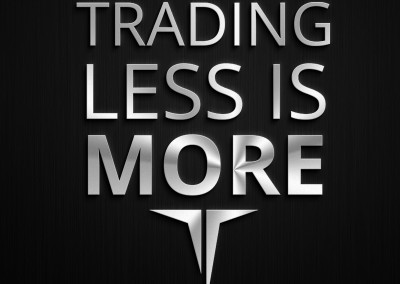 Trading Less is More